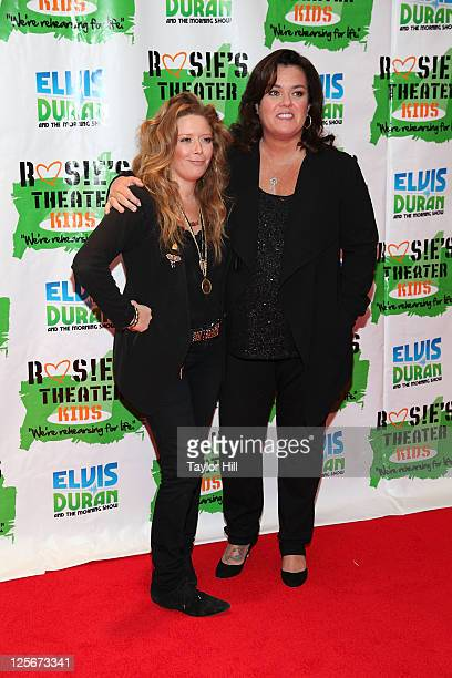 Actresses Natasha Lyonne and Rosie O'Donnell attend Rosie's Building Dreams for Kids Gala at The New York Marriott Marquis on September 19 2011 in...