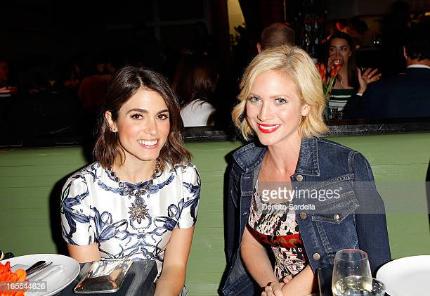 Actresses Nikki Reed and Brittany Snow attend Vogue's Triple Threats dinner hosted by Sally Singer and Lisa Love at Goldie's on April 3 2013 in Los...