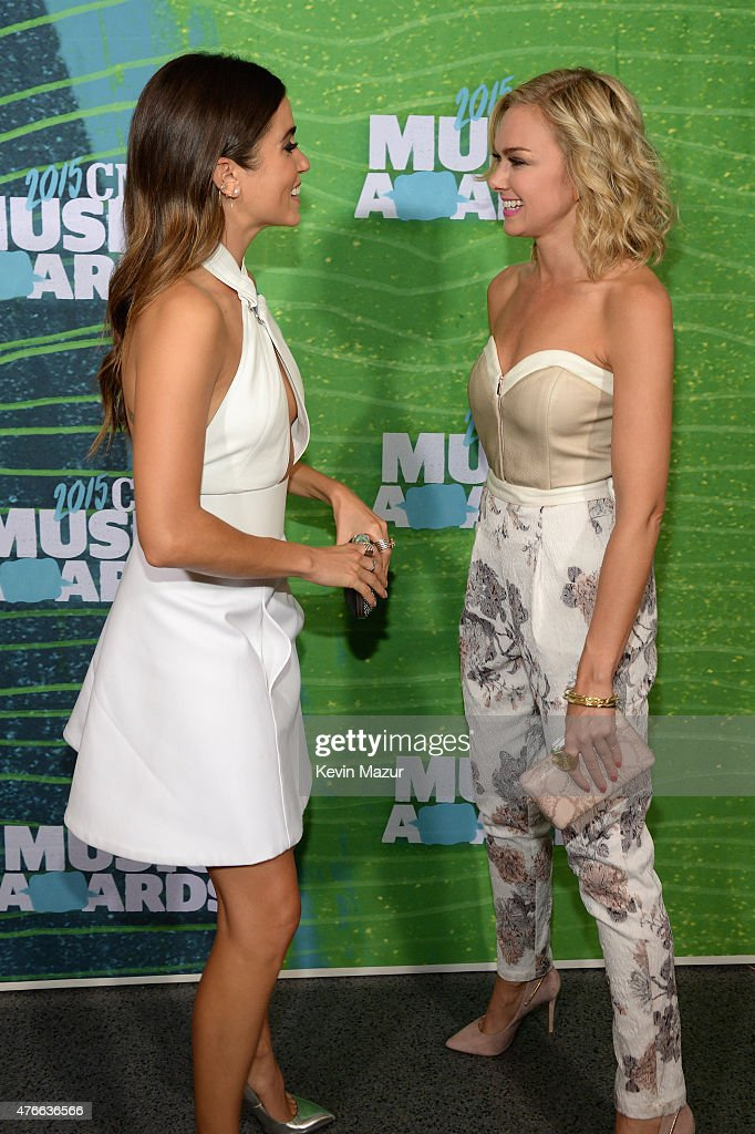 Actresses Nikki Reed And Laura Bell Bundy Attend The 2015
