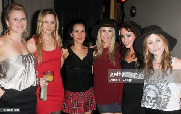 Actresses Noel Thurman, Jessica Sonneborn, Burgandi Phoenix, Chanel Ryan, Burgandi Phoenix and Augie Duke participate in Chanel Ryan's Birthday Party...
