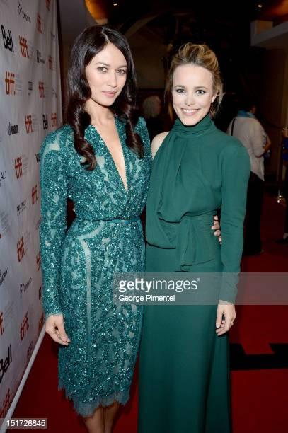Actresses Olga Kurylenko and Rachel McAdams attend the To The Wonder premiere during the 2012 Toronto International Film Festival at the Princess of...