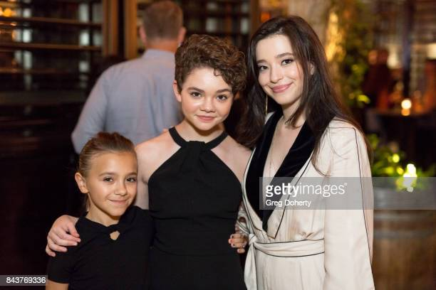 Actresses Olivia Edward Hannah Alligood and Mikey Madison attend the Premiere Of FX's Better Things Season 2 After Party on September 6 2017 at the...