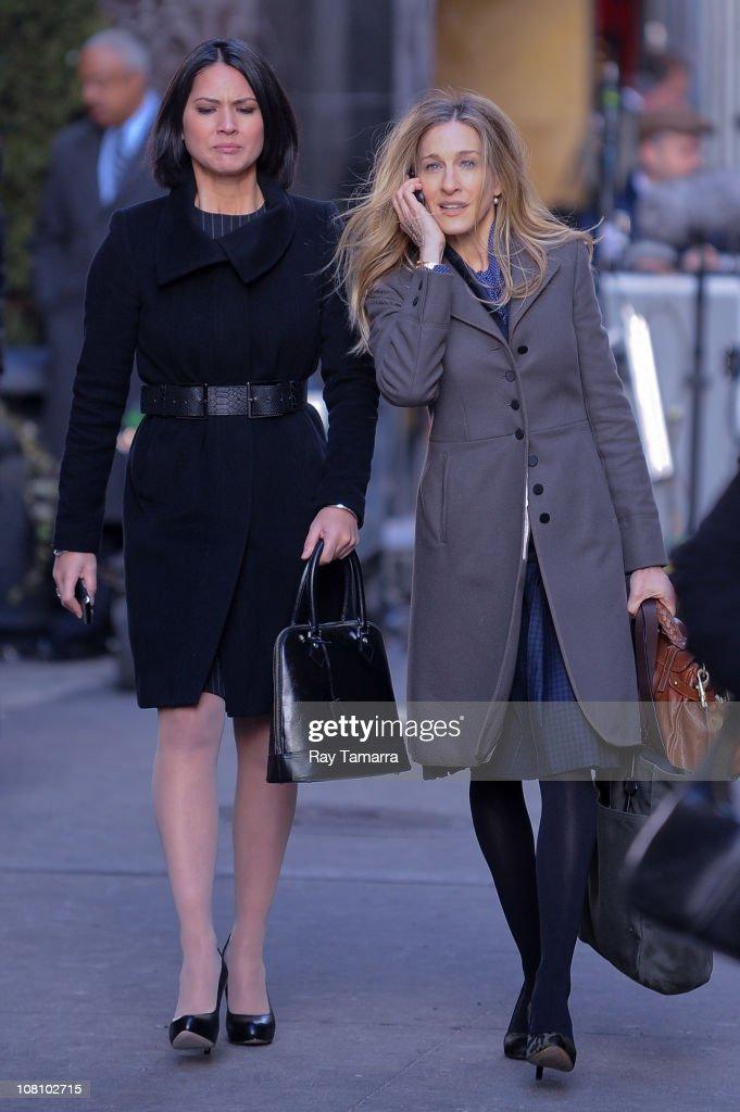 Celebrity Sightings In New York City - January 17, 2011 : News Photo