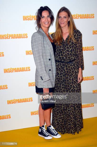 Actresses Ornella Fleury and Judith El Zein attend the Inseparables Premiere At UGC Cine Cite Bercy on September 02 2019 in Paris France