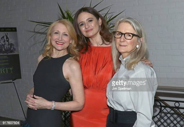 Actresses Patricia Clarkson Emily Mortimer and director Sally Potter attend the screening after party for 'The Party' hosted by Roadside Attractions...