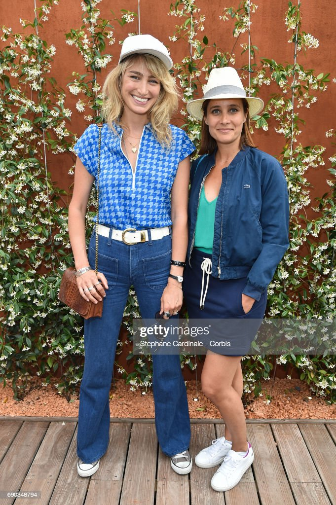 Celebrities At 2017 French Open - Day Three
