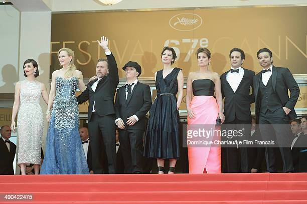 Actresses Paz Vega Nicole Kidman actor Tim Roth director Olivier Dahan Jeanne Balibar Geraldine Somerville Arash Amel and Uday Chopra attend the...