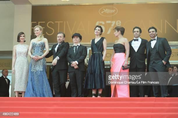 Actresses Paz Vega Nicole Kidman actor Tim Roth director Olivier Dahan Jeanne Balibar Geraldine Somerville Arash Amel and Uday Chopra attend the...