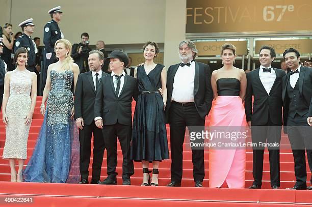Actresses Paz Vega Nicole Kidman actor Tim Roth director Olivier Dahan Jeanne Balibar Pierre Ange Le PogamGeraldine Somerville Arash Amel and Uday...