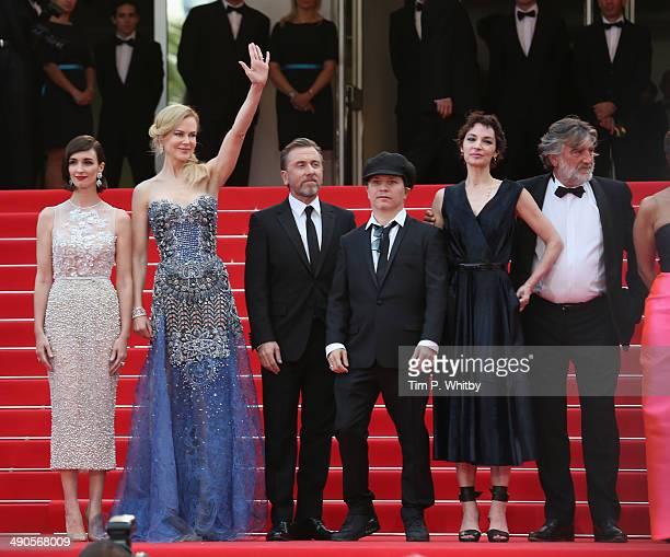 Actresses Paz Vega Nicole Kidman actor Tim Roth director Olivier Dahan Jeanne Balibar Pierre Ange Le Pogam and Geraldine Somerville attend the...