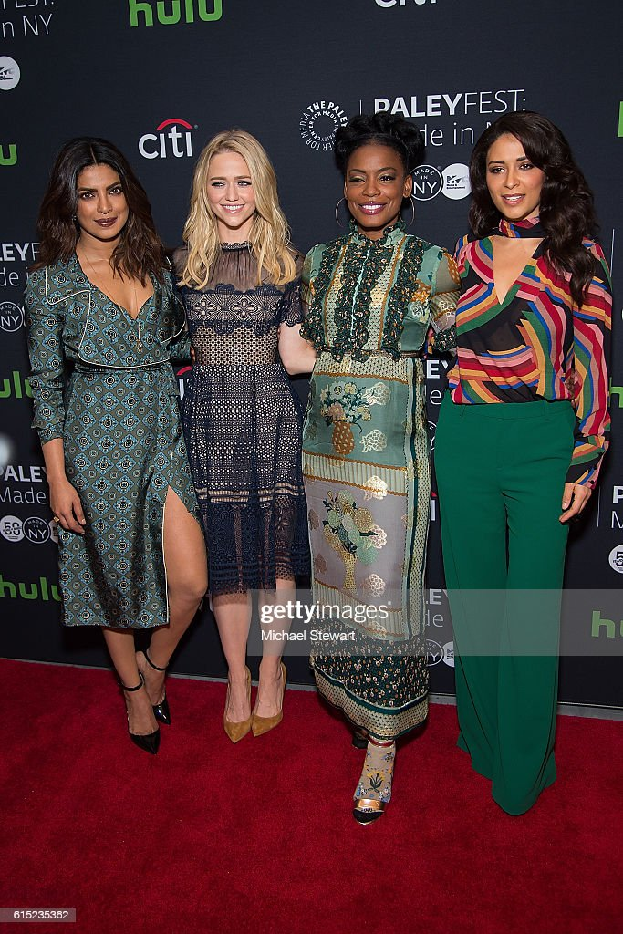 "PaleyFest New York 2016 - ""Quantico"" : News Photo"