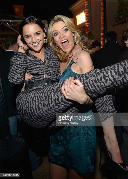 Actresses Rachael Leigh Cook and Missi Pyle attend the Conde Nast Traveler Hot List Party at the Hotel BelAir on April 12 2012 in Los Angeles...
