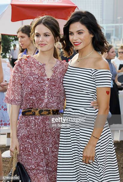 Actresses Rachel Bilson and Jenna Dewan Tatum attend the Target launch of Cat And Jack Brand at Brooklyn Bridge Park on July 21 2016 in New York City