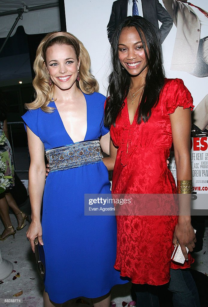 Actresses Rachel Mcadams And Zoe Saldana Attend The Premiere Of News Photo Getty Images