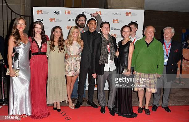 Actresses Reanin Johannink Sianoa SmitMcPhee Caitlin Stasey Brooke Butler Filmmaker Lucky McKee actor Tom Williamson Producer Andrew van den Houten...