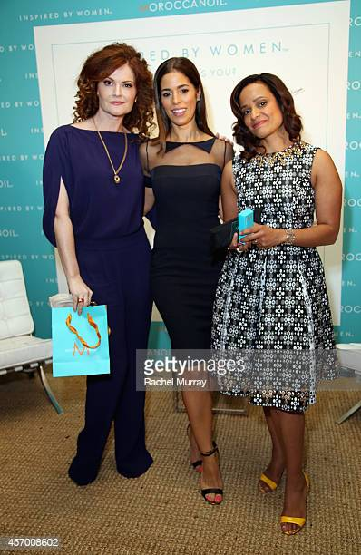 Actresses Rebecca Wisocky Ana Ortiz and Judy Reyes attend the 2014 Variety Power of Women presented by Lifetime at Beverly Wilshire Four Seasons...
