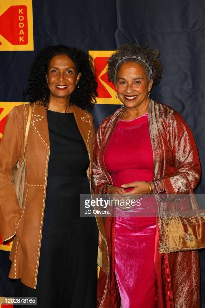 Actresses Robbi Chong and Rae Dawn Chong attend the 4th Annual Kodak Film Awards at ASC Clubhouse on January 29 2020 in Los Angeles California