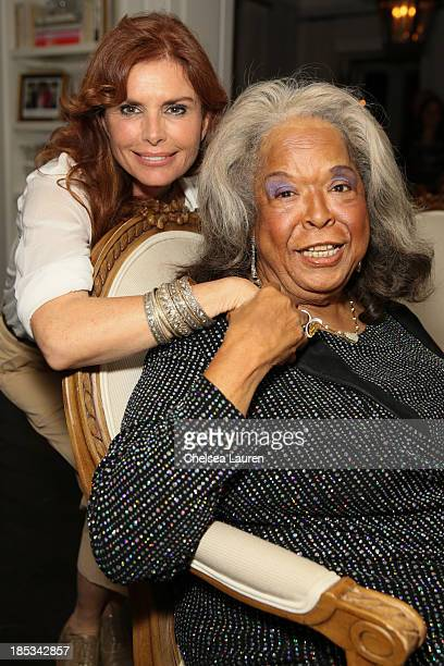 Actresses Roma Downey and Della Reese attend Joshua DuBois author of 'The President's Devotional' book party hosted By Roma Downey and Mark Burnett...