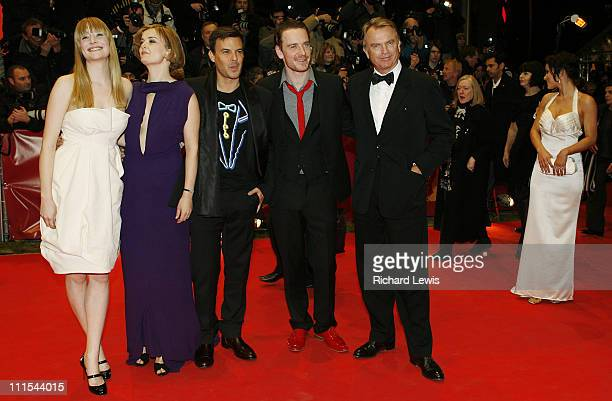 Actresses Romola Garai Lucy Russell director Francois Ozon actors Michael Fassbender and Sam Neil
