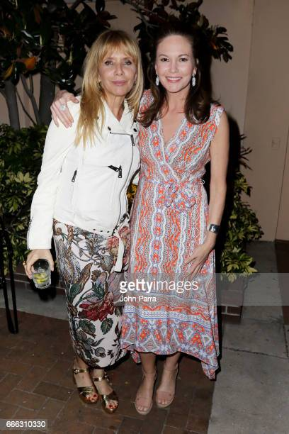 Actresses Rosanna Arquette and Diane Lane attend the closing night ceremony and screening of 'Paris Can Wait' during the 2017 Sarasota Film Festival...