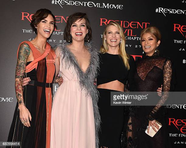 Wallpaper Milla Jovovich Ali Larter Ruby Rose Resident: Ruby Rose Pictures And Photos