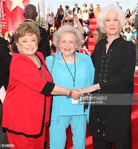 Bea Arthur Arrive At The 6th Annual Tv Land Awards In: Bea Arthur Pictures And Photos