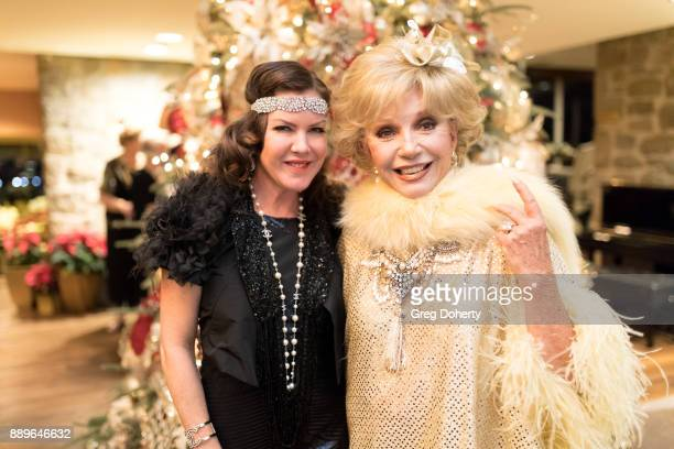 Actresses Ruta Lee and Kira Reed Lorsch attend The Thalians Hollywood for Mental Health Holiday Party 2017 at the Bel Air Country Club on December 09...