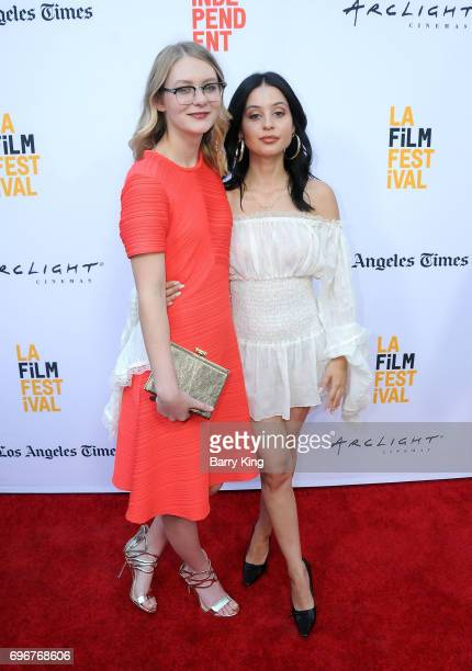 Actresses Ryan Simpkins and Alexa Demie attend the 2017 Los Angeles Film Festival Gala Screening Of Sony Pictures Classic's 'Brigsby Bear' at...