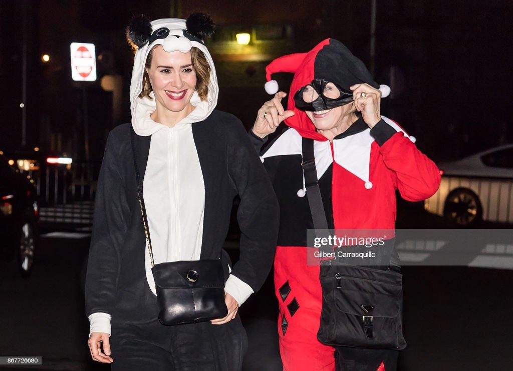 Celebrity Sightings in Philadelphia - October 28, 2017 : News Photo