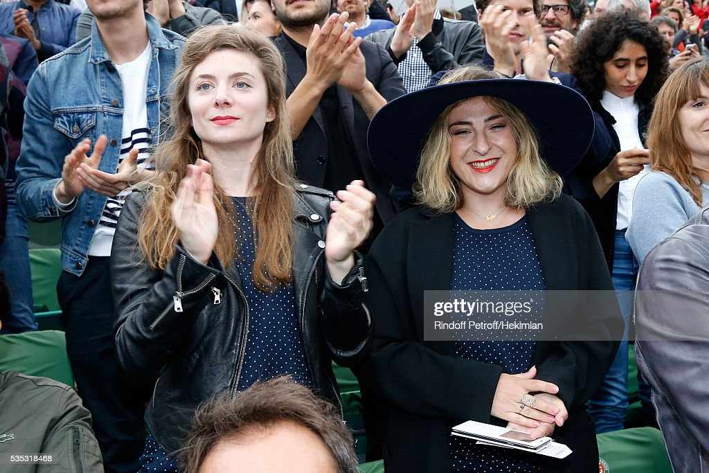 Celebrities at French Open 2016 - Day Eight