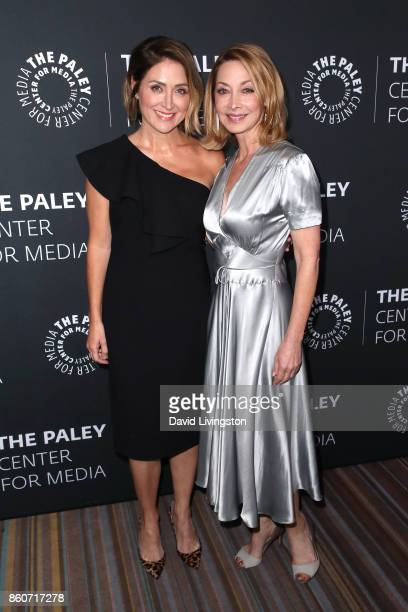 Actresses Sasha Alexander and Sharon Lawrence attend Paley Honors in Hollywood A Gala Celebrating Women in Television at the Beverly Wilshire Four...