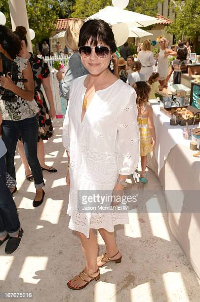 Actresses Selma Blair attend the Huggies Snug Dry and Baby2Baby Mother's Day Garden Party held on April 27 2013 in Los Angeles California