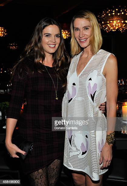 Actresses Shane Lynch and Kelly Lynch attend a private dinner hosted by VOGUE to celebrate TOD'S Creative Director Alessandra Facchinetti on November...
