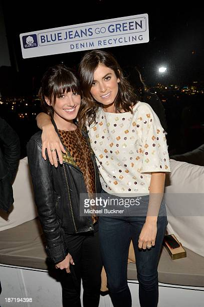 Actresses Shenae Grimes and Nikki Reed attend Cotton Incorporated's Blue Jeans Go Green celebrates 1 million pieces of denim collected for recycling...