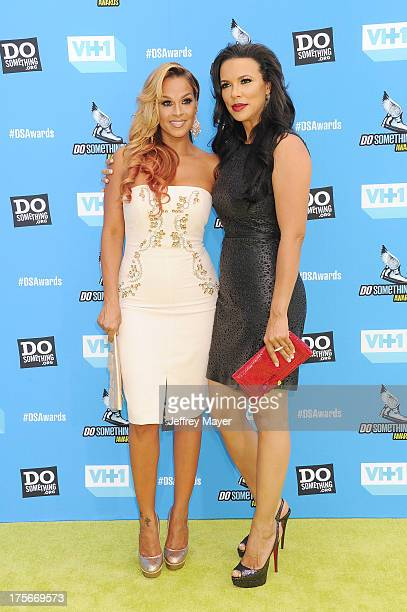 Actresses Sheree Fletcher and Shamicka Lawrence arrive at the DoSomethingorg and VH1's 2013 Do Something Awards at Avalon on July 31 2013 in...