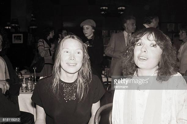 Actresses Sissy Spacek and Diane Keaton