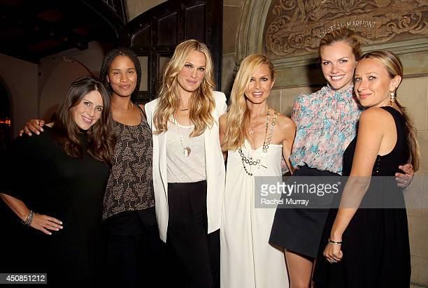Actresses Soleil Moon Frye Joy Bryant Molly Sims designer/stylist Rachel Zoe actress Brooklyn Decker and jewerly designer Jennifer Meyer attend...