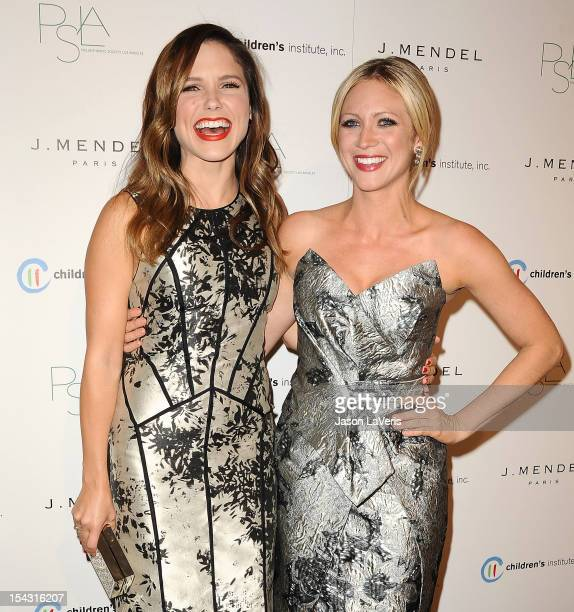 Actresses Sophia Bush and Brittany Snow attend the 3rd annual Autumn Party at The London West Hollywood on October 17, 2012 in West Hollywood,...