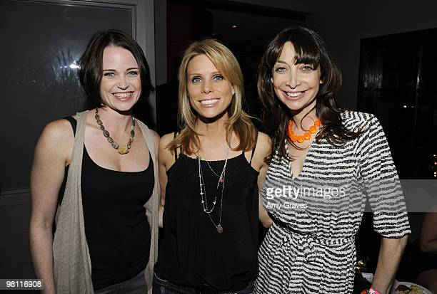 Actresses Sprague Grayden Cheryl Hines and Ileana Douglas attend the Los Angeles Women's International Film Festival Opening Night Gala at Libertine...