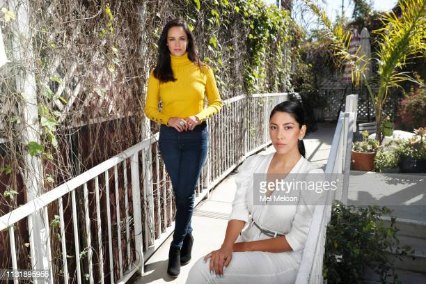 Actresses Stephanie Beatriz and Melissa Fumero are photographed for Los Angeles Times on February 22 2019 in Hollywood California PUBLISHED IMAGE...