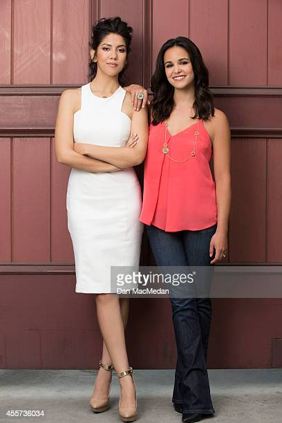 Actresses Stephanie Beatriz and Melissa Fumero are photographed for USA Today Hispanic Living on May 22 2014 in Los Angeles California COVER IMAGE
