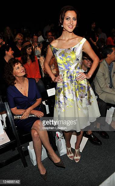 Actresses Susan Sarandon and daughter Eva Amurri attend the Lela Rose Spring 2012 fashion show during MercedesBenz Fashion Week at The Studio at...