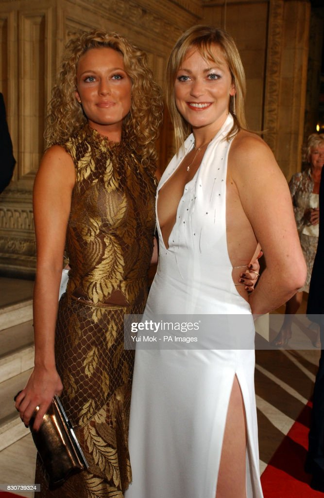 Actresses Suzanne Collins From Brookside And Terri Dwyer From