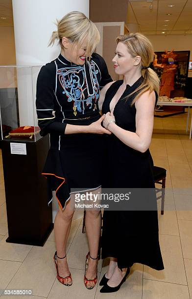 Actresses Taylor Schilling and Natasha Lyonne attend The Paley Center For Media Presents An Evening With 'Orange Is the New Black' at The Paley...