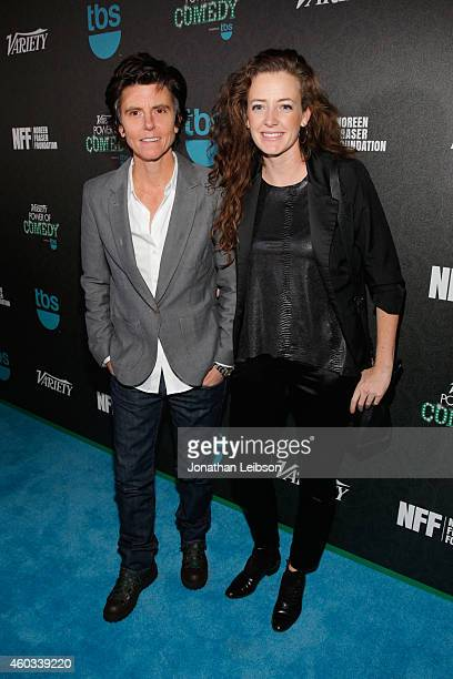 Actresses Tig Notaro and Stephanie Allynne attend Variety's 5th annual Power of Comedy presented by TBS benefiting the Noreen Fraser Foundation at...