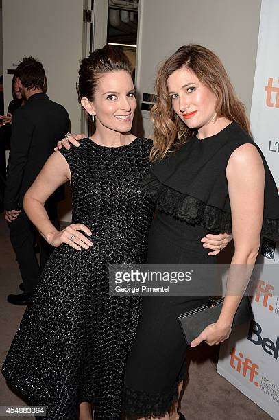 Actresses Tina Fey and Kathryn Hahn attend the 'This Is Where I Leave You' premiere during the 2014 Toronto International Film Festival at Roy...