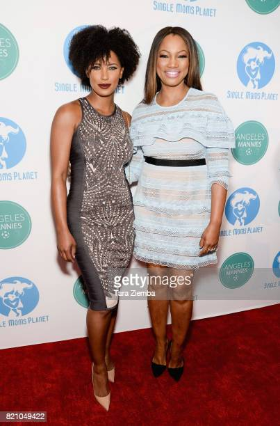 Actresses Toni Duclottni and Garcelle Beauvais attend the Single Mom's Awards at The Peninsula Beverly Hills on May 11 2017 in Beverly Hills...