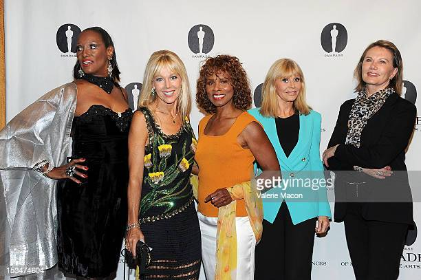 Actresses Trina Parks LynnHolly Johnson Gloria Hendry Britt Ekland and Maud Adams attend The Academy Of Motion Picture Arts And Sciences' Presents...