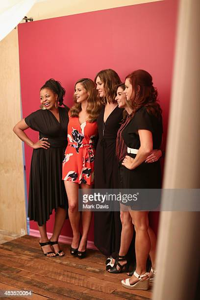 Actresses Tymberlee Hill Andrea Savage Erinn Hayes writer/director/actress Danielle Schneider and Writer/producer/actress Dannah Feinglass Phirman of...