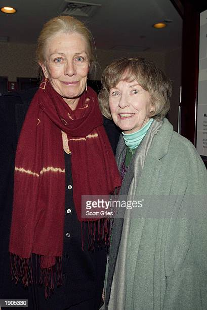 Actresses Vanessa Redgrave and Betsy Blair attend a tribute and special screening of the late director Karel Reisz's first feature film Saturday...